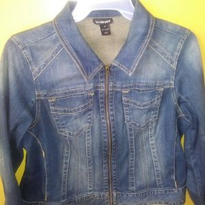 Size 16 Lane Bryant jean jacket